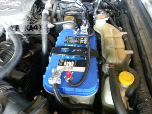 2 Suport baterie suplimentara Nissan Patrol Y61