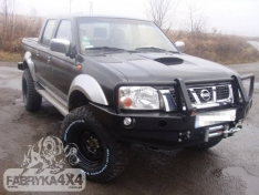 Bara fata OFF ROAD cu bull bar Nissan NAVARA D22 01-04