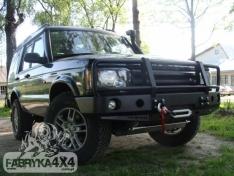 Bara fata OFF ROAD cu bull bar, versiunea GU4 Land Rover Discovery II