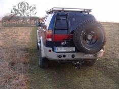 Bara spate OFF ROAD Mitsubishi Pajero Sport 96-00