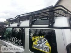 Portbagaj Roof Rack cu plasa Land Rover Discovery II