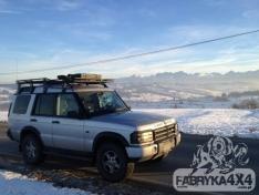 Portbagaj Roof Rack fara plasa Land Rover Discovery II
