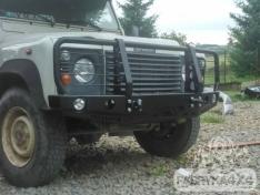 Bara fata OFF ROAD cu bull bar Land Rover Defender 110
