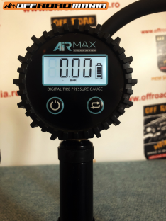 Pistol TRE AIR MAX umflare-dezumflare roti cu manometru digital