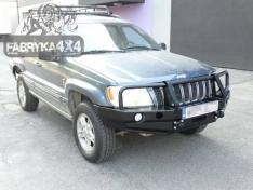 Bara fata OFF ROAD cu bull bar Jeep Grand Cherokee WJ 99-04