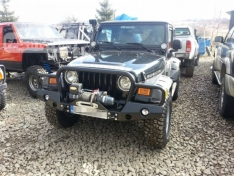 Bara fata OFF ROAD cu bull bar Jeep Wrangler TJ 90-06
