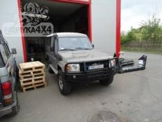 Bara fata OFF ROAD cu bull bar Toyota Land Cruiser HZJ 78