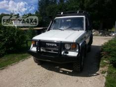 Bara fata OFF ROAD cu bull bar Toyota Land Cruiser J70 85-96