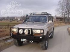 Bara fata OFF ROAD cu bull bar Toyota Land Cruiser J80 89-98