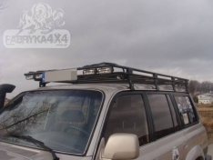 Portbagaj Roof Rack cu plasa Toyota Land Cruiser J80 89-98