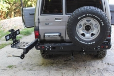 Suport canistra combustibil 30L Toyota Land Cruiser HZJ71 99-07