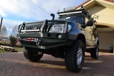 Bara fata OFF ROAD cu bull bar GU4 Toyota Land Cruiser J95 96-02