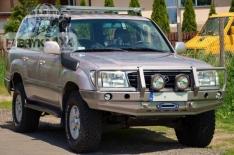 Bara fata OFF ROAD cu bull bar Toyota Land Cruiser J105 98-04