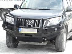 Bara fata OFF ROAD cu bull bar Toyota Land Cruiser J150 09-13 fara overfendere