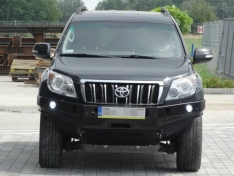 Bara fata OFF ROAD fara bull bar Toyota Land Cruiser J150 09-13 fara overfendere