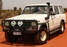 Snorkel Nissan Patrol K160, K260 1980-2004 2.8D, 2.8TD, 2.8B, 3.3D, 3.3TD, 2.7TD