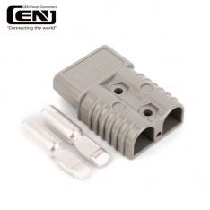 Conector rapid pentru cabluri troliu