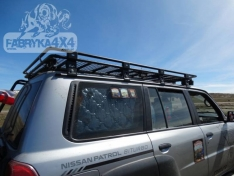 Portbagaj Roof Rack lung cu plasa Nissan Patrol GU4