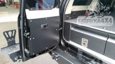Protectie aluminiu usa portbagaj pentru Nissan Patrol Y61