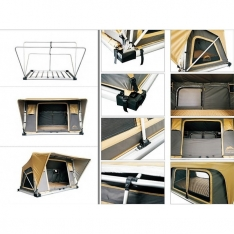 Cort auto pentru 2-3 persoane Normandy Auto 140 x 200 cm
