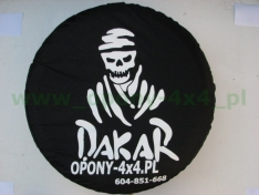 Husa roata de rezerva Dakar X