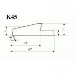 Overfender universal 45mm, k45 Offroad 4x4_