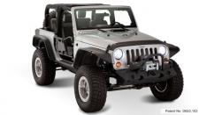 Overfendere Jeep Wrangler JK – model plat