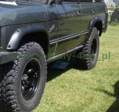 Overfendere pentru Range Rover classic (1970-1995), Land Rover Discovery I – 7 cm