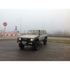 Kit suspensie Nissan Patrol Y60 cu amortizoare Extra Heavy Duty Foamcell PRO Reparabile, lift 100mm