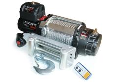 Troliu Escape EVO cu cablu de otel 15000 lbs (6810kg) IP68