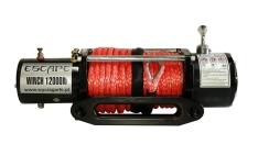 Troliu Escape cu cablu sintetic 12000 lbs (5443kg)