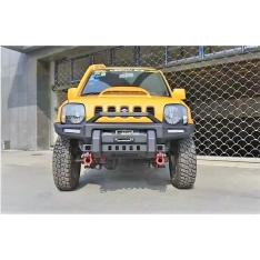 """Bara fata aluminiu Ironman """"Leopard"""" pentru Suzuki Jimny cu suport troliu (97′-17′)"""