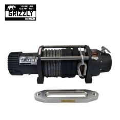 Troliu Grizzly Winch 13000lbs (5897kg) cablu sintetic