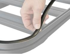 Garnitura PVC pentru canal 14mm