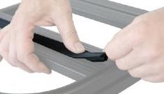 Garnitura PVC pentru canal 30mm