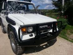 Bara fata cu placa troliu OFF ROAD Toyota Land Cruiser 70 (1985-1996)