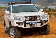 Bullbar ARB Deluxe pentru Toyota Land Cruiser J150 (-2013) cu senzori de parcare