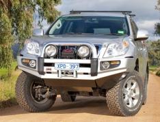 Bullbar ARB Sahara pentru Toyota Land Cruiser J150 (-2013) cu senzori de parcare