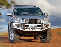 Bullbar ARB Sahara pentru Toyota Land Cruiser J150 (-2013) fara senzori de parcare