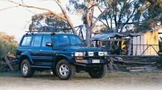 Bullbar Arb Deluxe pentru Toyota Land Cruiser HZJ80 (cu overfendere)