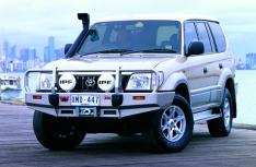 Bullbar Arb Deluxe pentru Toyota Land Cruiser J90, dupa 2001 (cu overfendere)