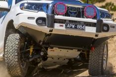 Kit scuturi de protectie ARB pentru Toyota Land Cruiser J150 fara KDSS