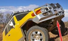Scut de protectie pentru bara ARB pentru Toyota Fj Cruiser (-2011)