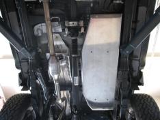 Scut protectie rezervor din aluminiu pentru Toyota Hilux