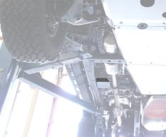 Scut senzori esapament pentru Toyota Hilux