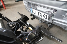 Suport de montaj plug pentru Suzuki Jimny, benzina
